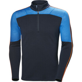 Helly Hansen Lifa Merino Top met 1/2 Rits Heren, electric blue